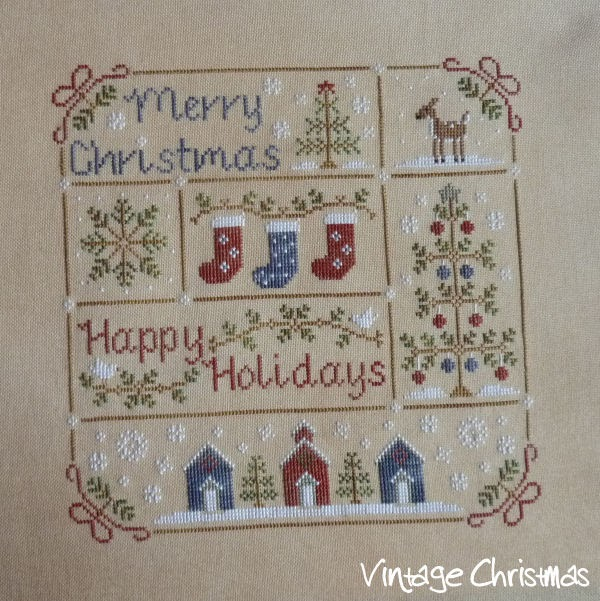 Fallen in love with LHN and CCN patterns: Vintage Christmas