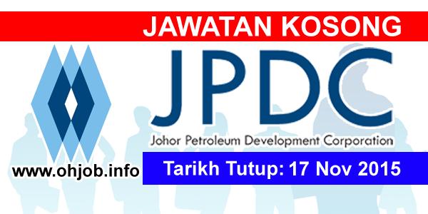 Jawatan Kerja Kosong Johor Petroleum Development Corporation Berhad logo www.ohjob.info november 2015