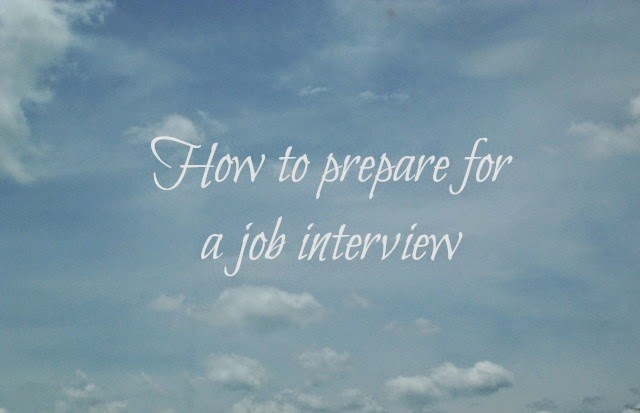 prepare job interview tips