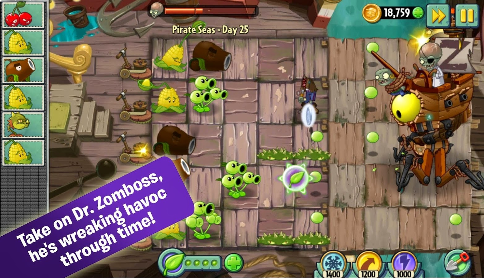 Android Games Plants vs Zombies 2 versi 2.4.1 Asik - 6