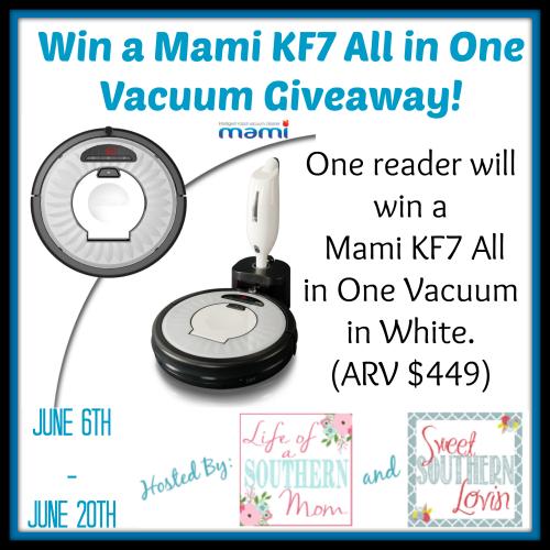 Mami KF7 Series Robot Vacuum Giveaway