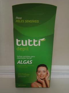 Folhas Prontas para Depilação Facial Tutti Depil