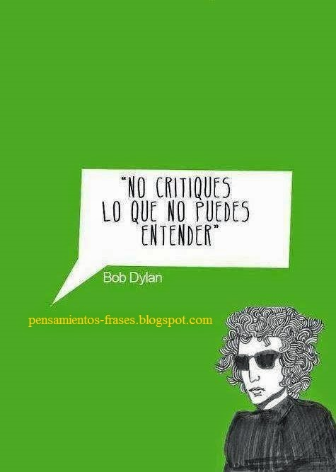 frases de Bob Dylan