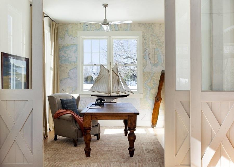 Nautical Decorating Interior Design | Nautical Handcrafted ...
