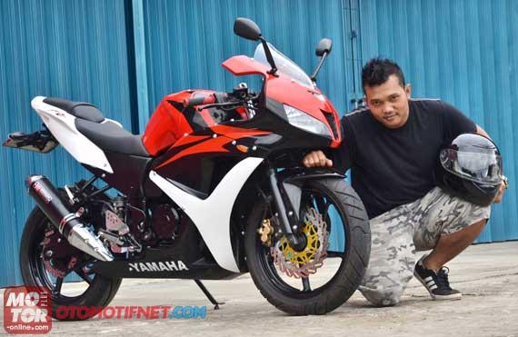 Modif Yamaha Byson Ban Besar