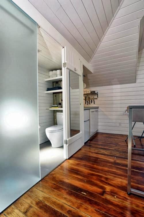 Dise o de interiores ram n mart puertas correderas para ba o - Puertas para banos pequenos ...
