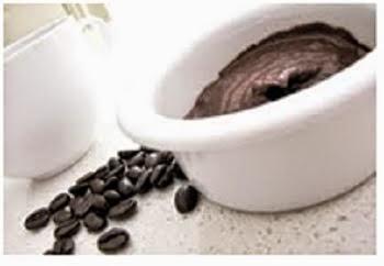 membuat masker kopi untuk relaksasi