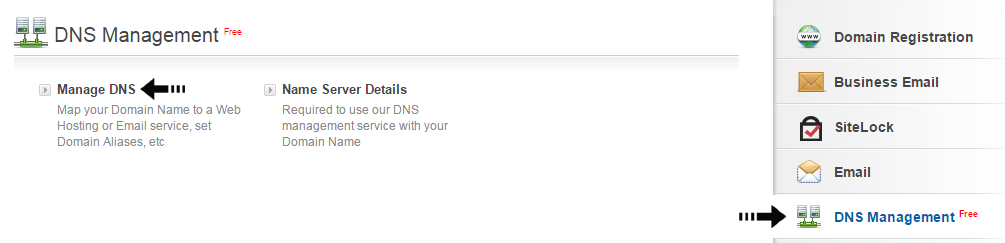 manage DNS