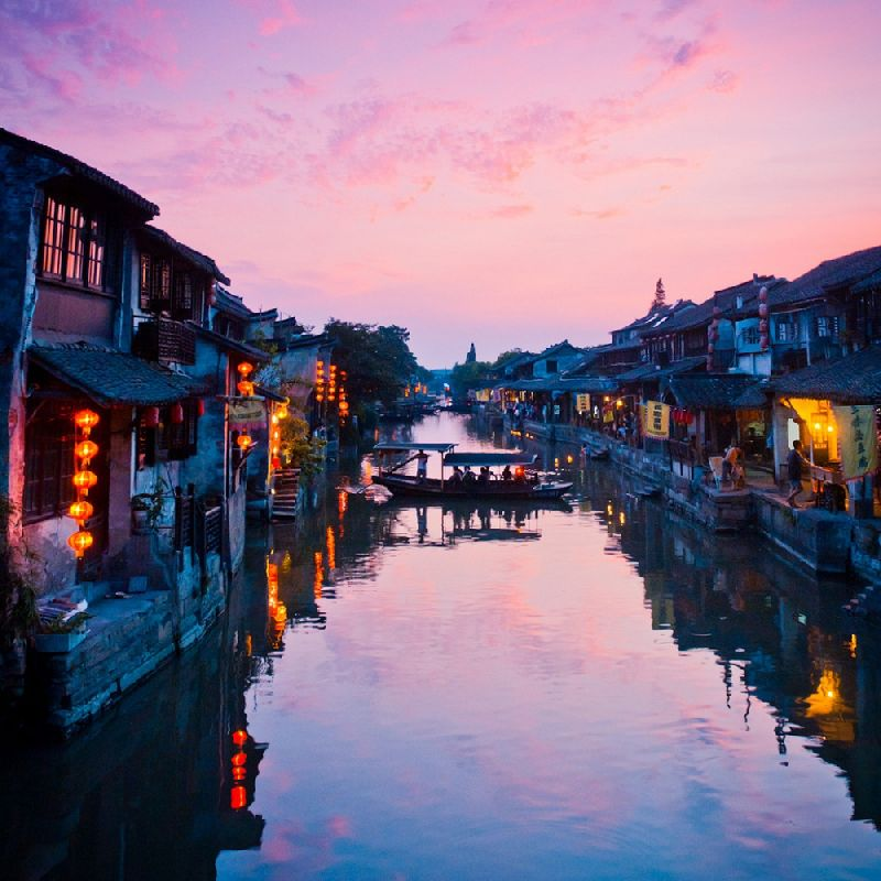 Tiny towns Xitang, China