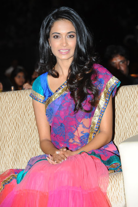 sarah jane dias at panjaa audio launch, sarah jane dias glamour  images