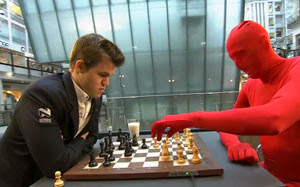 Match Norvège vs Magnus Carlsen