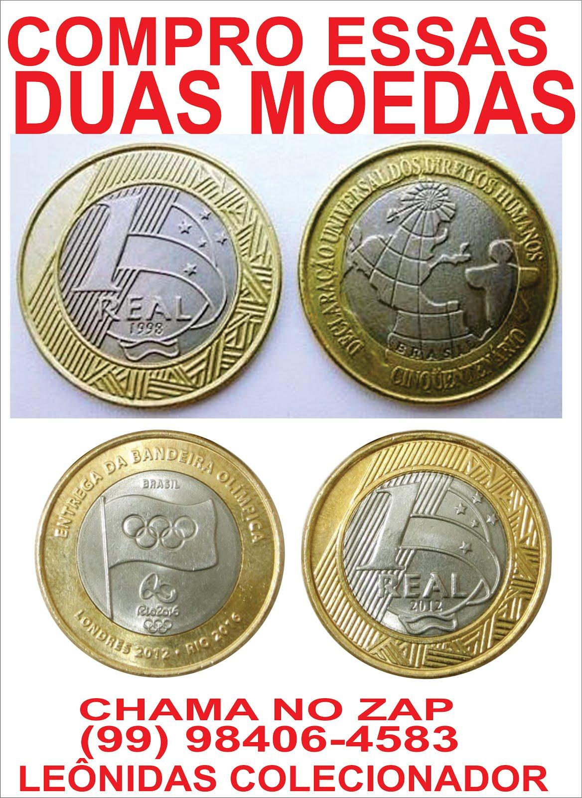 LEÔNIDAS COLECIONADOR DE MOEDAS