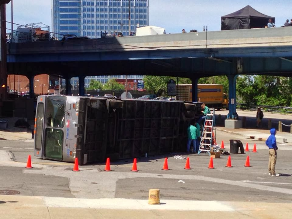 Filming Captain America: The Winter Solider on the Shoreway