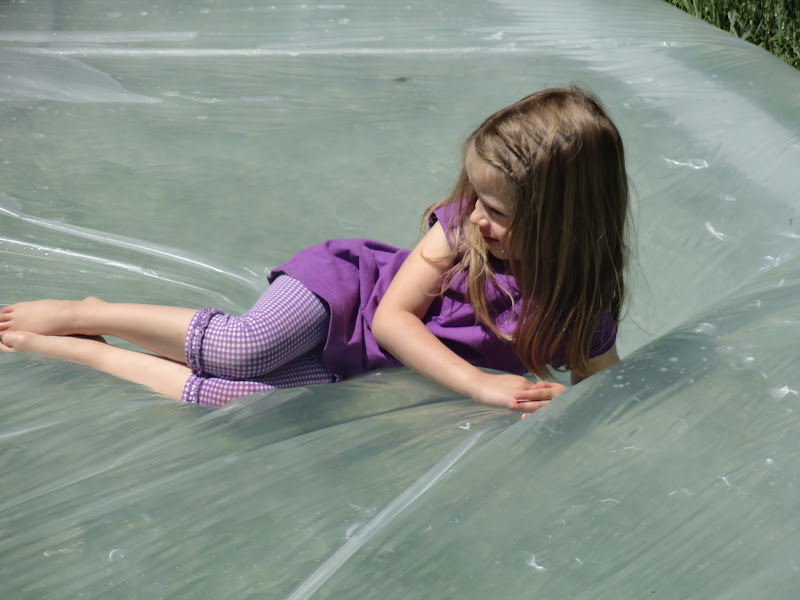 Welcome the Child: Outdoor Water Bed