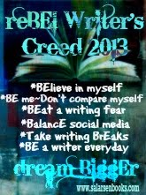 2013 reBEl Writer&#39;s Creed