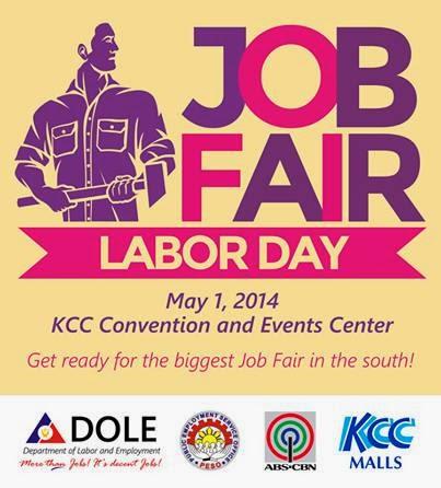 Labor Day Job Fair at KCC Mall of Gensan