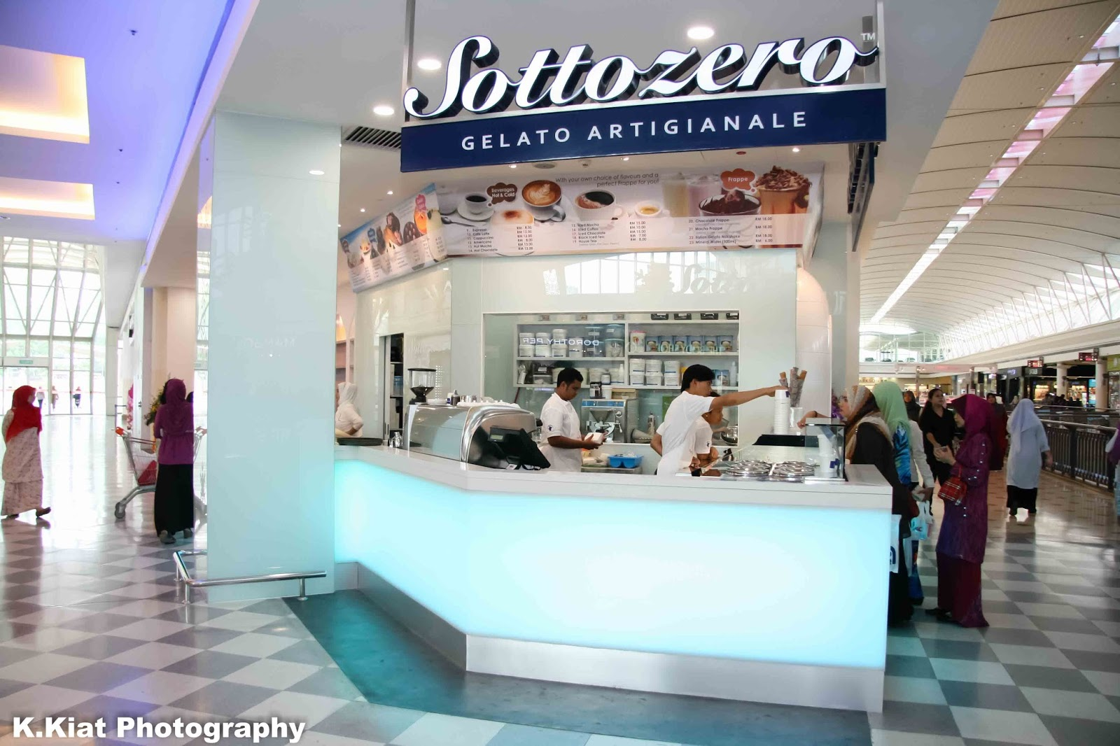 Sottozero, truly Italian Gelato landed in Alamanda Putrajaya | The ...