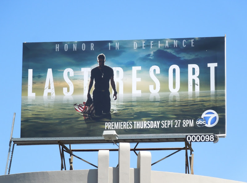 Last Resort season 1 billboard