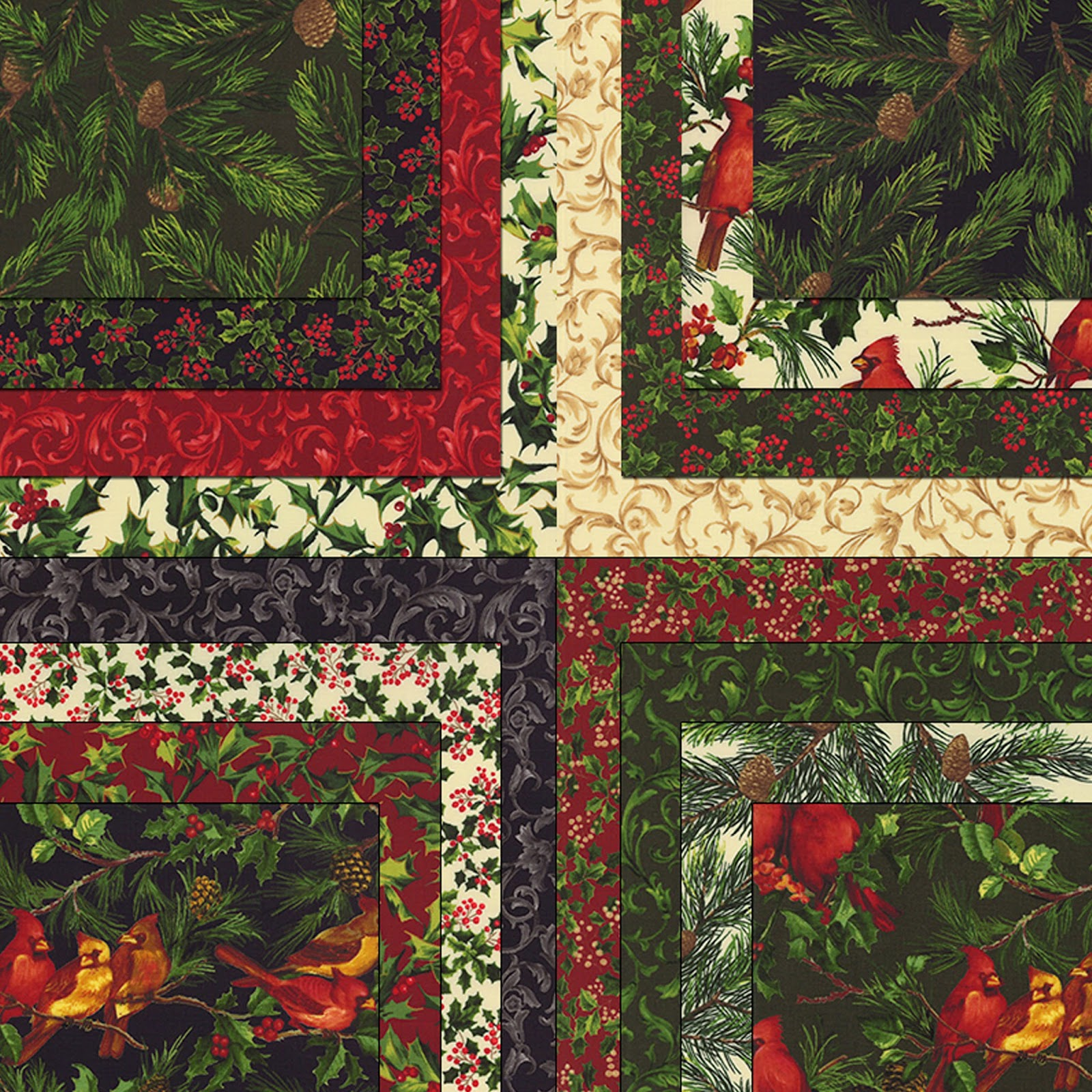 Moda REJOICE Christmas Quilt Fabric by Sentimental Studios for Moda Fabrics