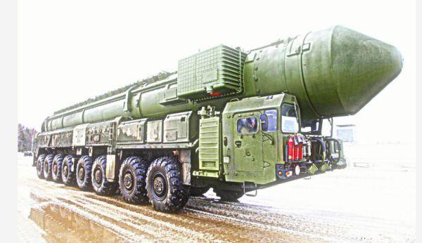Rudal balistik Rusia