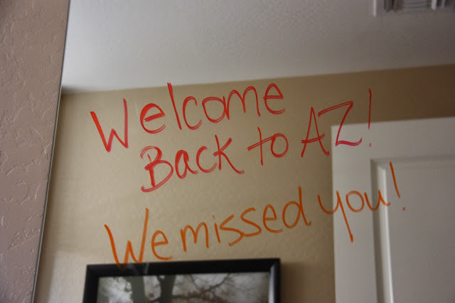 Fun way to make guests feel welcome in your home