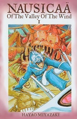 Manga Nausicaa of the Valley of the Wind cover