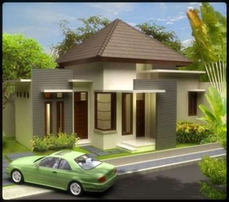 Contoh model desain rumah minimalis 1 lantai