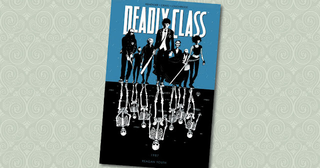 Deadly Class 1 Panini Cover