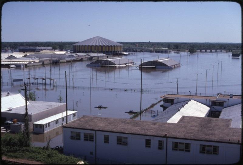 Ross Barnett Reservoir The Easter Flood