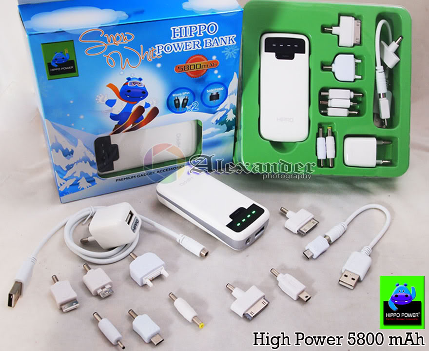Power Bank Hippo Power 5800mAh