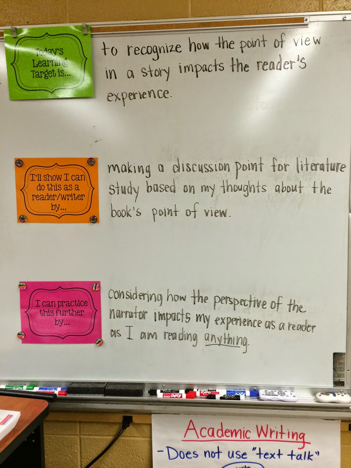 Learning Targets, Minilessons, I Can Statements, Etc. | Middle ...
