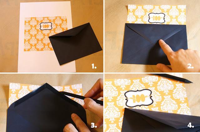 decorar un sobre