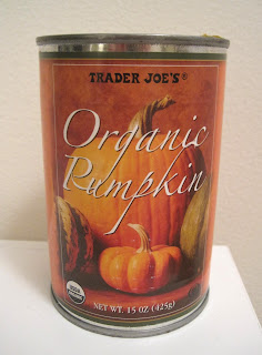 Trader Joe's Organic Pumpkiin Vegan Blog Veega