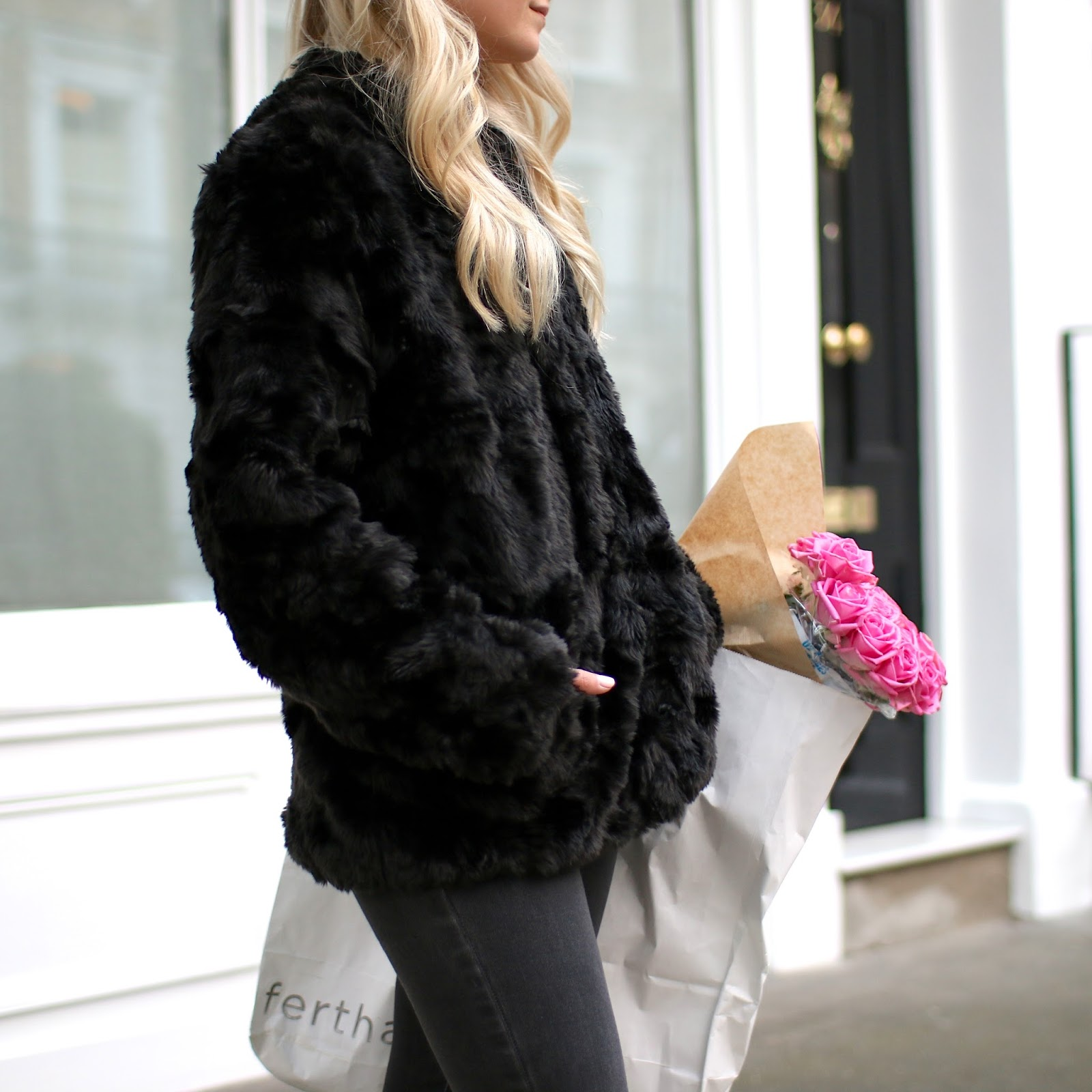 the best faux fur coat