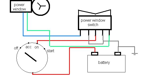 Miraculous Power Window Switch Wiring Wiring Diagram Wiring 101 Capemaxxcnl