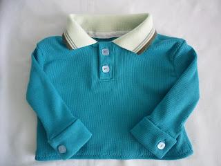 планка на рубашке - поло