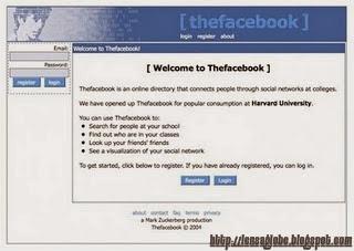 tampilan facebook.com jadul