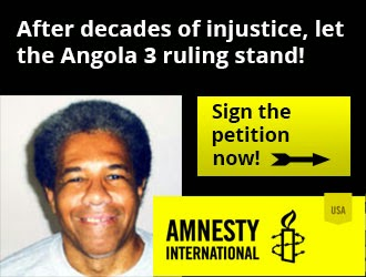 Amnesty Intl. Demands Albert Woodfox's Release!