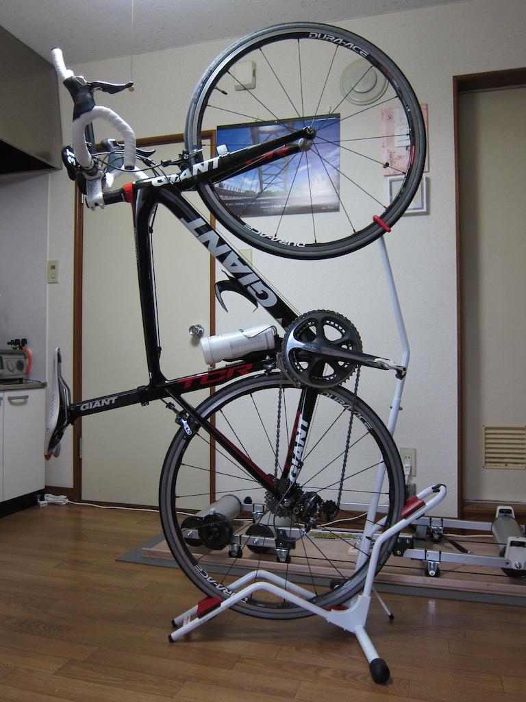 雑記: 縦型•自転車スタンド