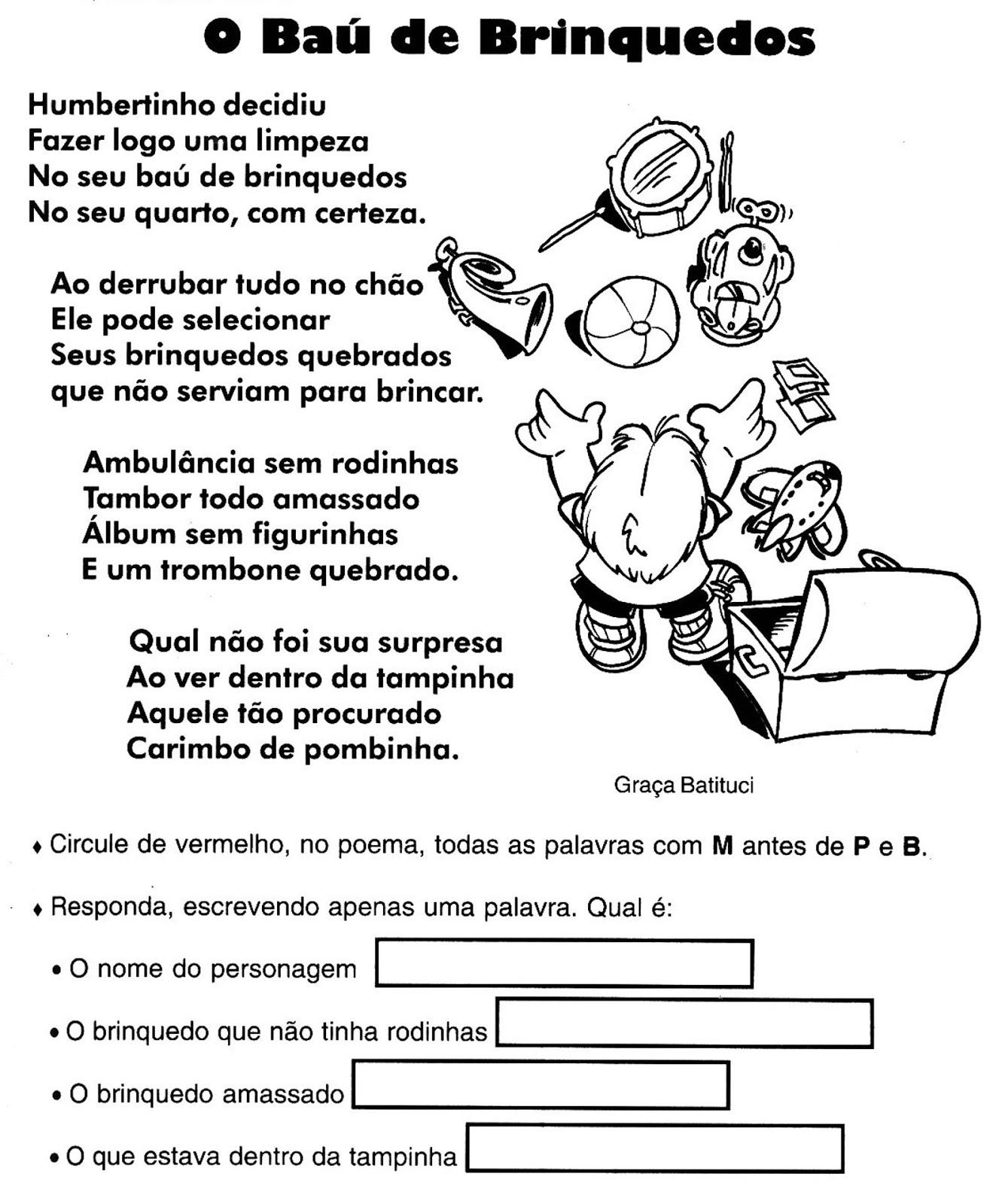 Amado Blog Professor Zezinho : Exercícios de Ortografia-MP ou MB XB13