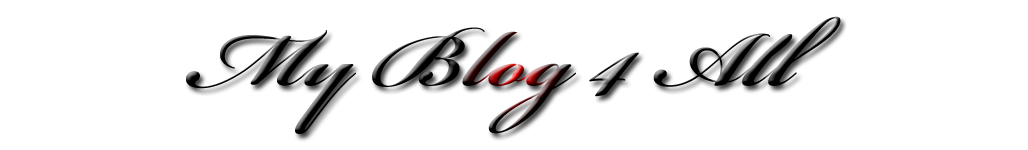 My Blog 4 All
