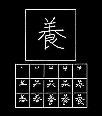 kanji mengasuh