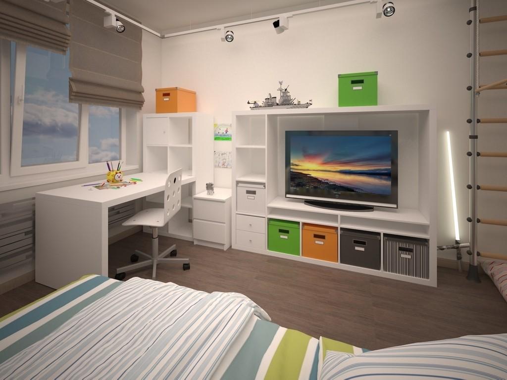 dormitorios juveniles decorados para chicos modernos