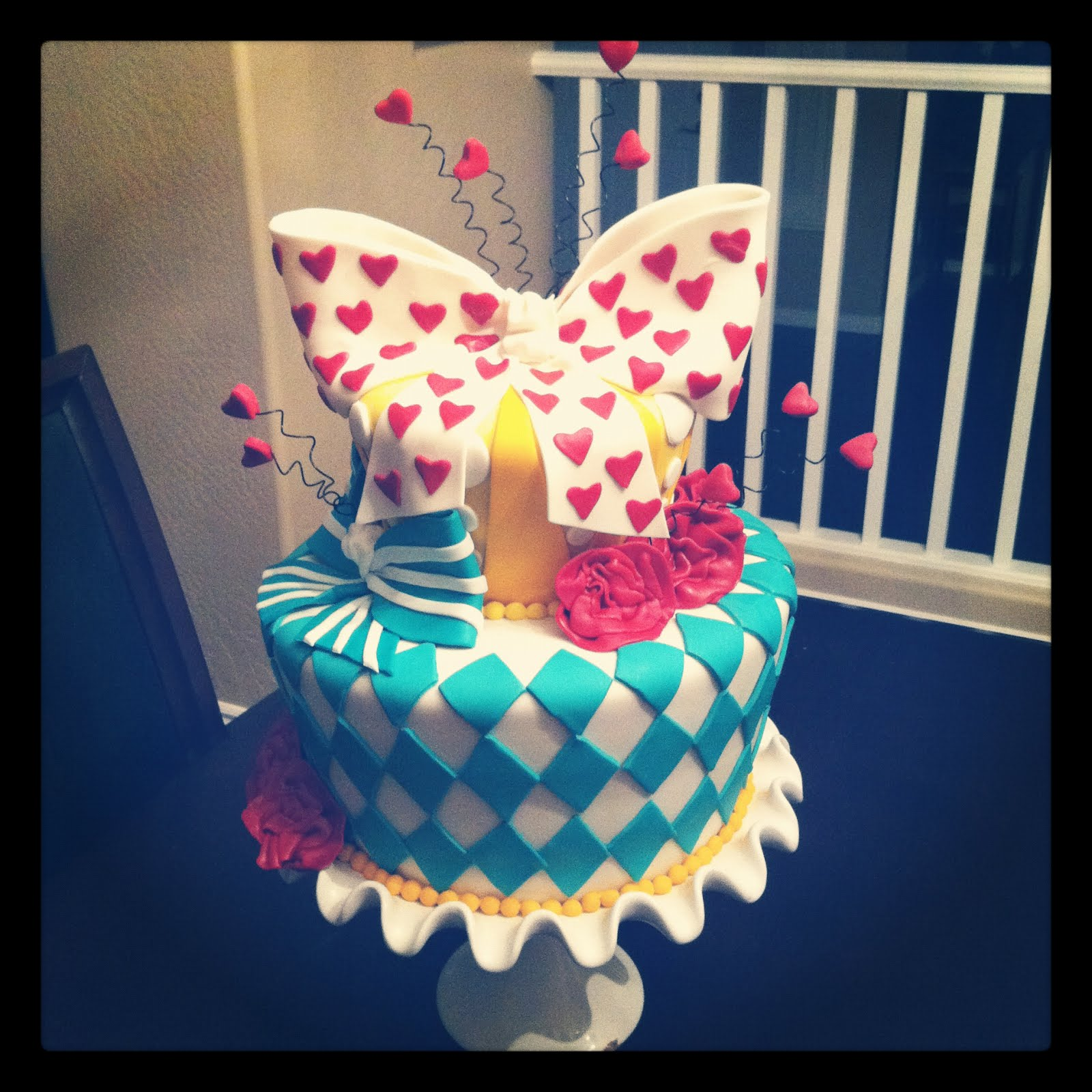 SASSY CAKES Your Fondant Cake Design Destination Alice in
