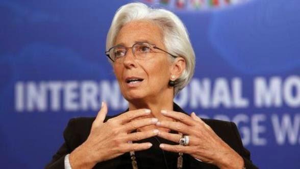 Η επικεφαλής του ΔΝΤ Κριστίν Λαγκάρντ, συναντήθηκε με τον Έλληνα Υπουργό Οικονομικών