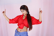 Charulatha Hot Photo shoot in Lungi-thumbnail-2