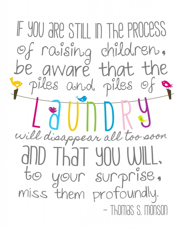 Thy Word: Thankful Thursday #4: Laundry