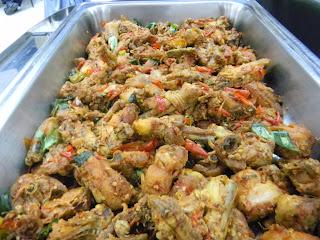 Catering Selaras : Ayam Rica-Rica