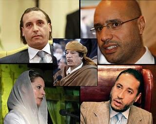 moammar khadafi family
