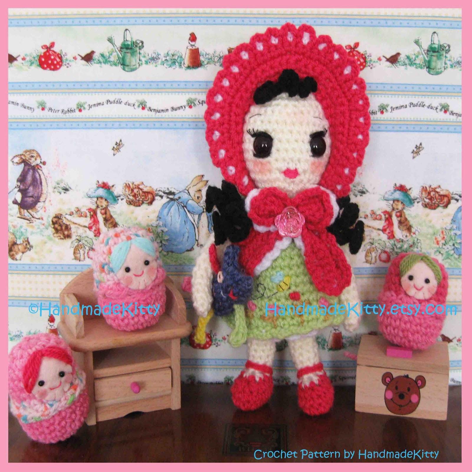 HandmadeKitty: Boomii Doll Amigurumi Crochet Pattern by ...